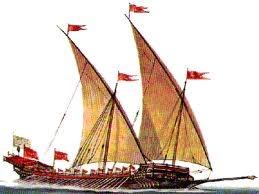 (20) 202 - Barco egipcio con velas latinas