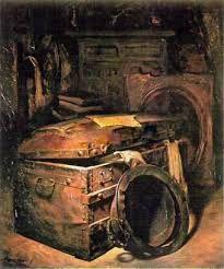 13 - Como un viaje de esa naturaleza era muy costoso, vació completamente los ahorros que Inés guardaba confiadamente en un viejo baúl de la alacena y desapareció sigilosamente.