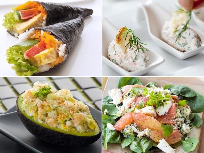 18 - ¿Sabías que surimi significa 'músculo de pescado picado'? Estas barritas con sabor a mar se elaboran sobre todo con sucedáneos de marisco, angulas o colas de langosta y dan un sabor espectacular a muchos platos. En sushi, en ensaladas e incluso en ceviche. Descubre cómo sacar partido al surimi con estas recetas que te proponemos.