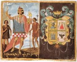 22 – (1533) Ayer conocimos a Tupahualpa, es hermano de Atahualpa. Es una buena decisión nombrarlo como sucesor, me parece una buena jugada política, creo que será de mucha ayuda por su aparente docilidad y deseos de colaboración. Su mujer, que también es su hermana, es muy distinguida y altiva, se llama Azarpay. Es la principal princesa del imperio, todos la tratan con mucha reverencia. Es completamente diferente a Inés Huaylas en carácter...